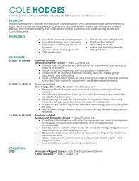 Example Resume For Teachers Best of Teacher Resume Sample Example Resumes Teacher Resume Example Inside