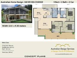 150m2 House Designs 160kr Beach 150m2 3 Bed 2 Bathrooms Hi Set Design