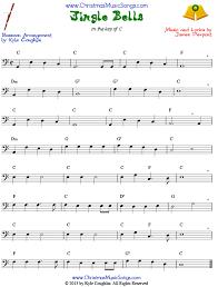 bassoon sheet music jingle bells for bassoon free sheet music