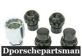 Porsche 911 / 912 / 924 / 928 / 930 / 944 / 968 Wheel Lock Set OEM ...