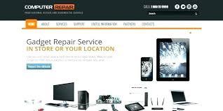Computer Repair Template Free Computer Service Template
