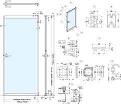 door jamb detail plan. Aluminum Door Frame Jamb Detail Plan