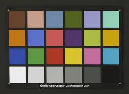 Gretagmacbeth Colorchecker Chart Opr