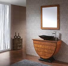 Bathroom Vanity Black Unique Bathroom Vanity With Half Ball And Elegant Black Sink