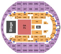 Von Braun Center Arena Seating Chart Huntsville