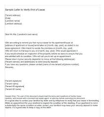 Sample Lease Termination Letter From Landlord To Tenant Printable
