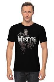 <b>Футболка классическая Misfits</b> band #677982 от Leichenwagen по ...