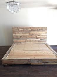 wood platform bed frame full. Delighful Wood Reclaimed Wood Platform Bed Base Pallet Natural Twin By KaseCustom Throughout Wood Platform Bed Frame Full M