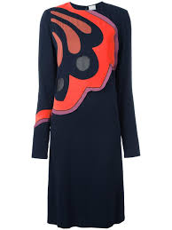 Paul Smith Front Print Dress Women Clothing 11750402