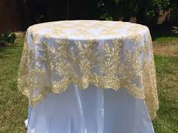 lace table runner round