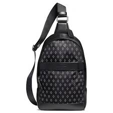 Coach 11267 charles pack with diamond foulard