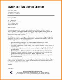 7 Engineering Cover Letter Format Resume Type
