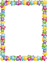 Kindergarten Borders Preschool Border Preschool Certificate Child Activity Border Hayes