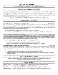 System Administrator Resume Sample