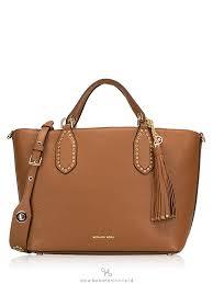 michael kors brooklyn leather large grab bag luggage