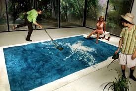 mansion with indoor pool with diving board. The Grand Splatch (Splash) Rug Emulates A Swimming Pool And Even Comes With Stainless Steel Diving Board. Designed By PUPSAM (David Puel Thomas Libé). Mansion Indoor Board