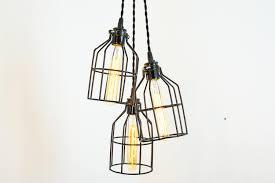 cage pendant lighting. Industrial Lighting - Pendant Lamp Ceiling Lights Cage Light Rustic Chandeliers Edison Bulb