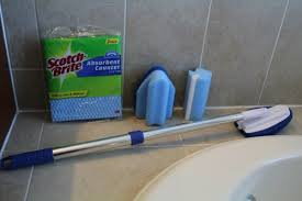 best bathroom cleaning products. Perfect Cleaning Reusable Bathroom Cleaning Tools From Scotch Brite Review Girl  Throughout Best Bathroom Cleaning Products E