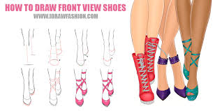 shoes drawing tumblr. how to draw front view shoes by idrawfashion drawing tumblr