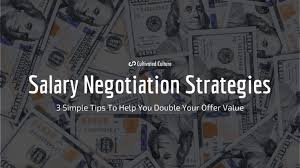 How To Negotiate Salary During An Interview Cultivated Culture
