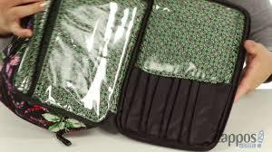 vera bradley luge iconic large blush brush case sku 9001077