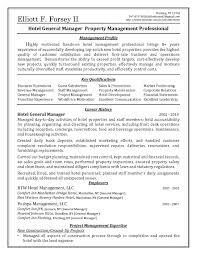 Sample Hotel Manager Resume sample resume for hotel manager Savebtsaco 1