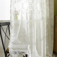 Sheer Curtains Living Room Online Get Cheap White Sheer Curtains Aliexpresscom Alibaba Group