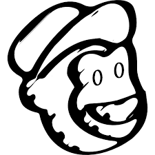 Mailchimp sketched social logo outline - Free social icons