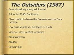 outsiders reflection  amp  discussion questions      outsiders reflection iafter reading the