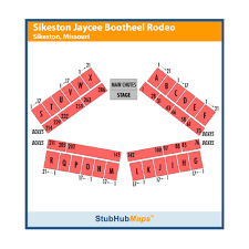 Sikeston Rodeo Seating Chart Sikeston Jaycee Bootheel Rodeo Events And Concerts In