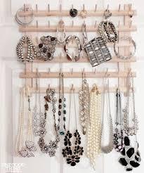 thread rack jewelry organization tips: Lucky Magazine 75 Creative Ways To  Organize Your Jewelry :