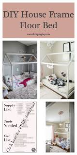 DIY House Frame Floor Bed Plan - D.I.Y -HOUSE-FRAME-FLOOR-BED-PLANS ...