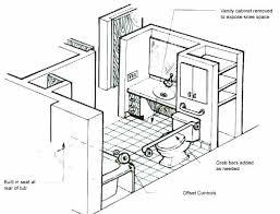 california ada bathroom requirements. Ada Bathtub Requirements Bathroom Layout Handicap Floor Plans For Cad Block 2015 California