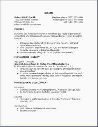 High School Resume Objective Student Example Examples 1 Good