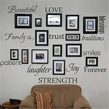 family frames wall decor family wall art picture frames pertaining es name family wall art ideas canvas art