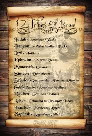 Gods Chosen People And Who They Are Today The 12 Tribes Of