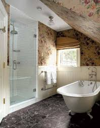 Bathroom , Bathroom Attic Design : Bathroom Attic Design With ...