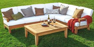 wood outdoor sectional. Interesting Sectional Wood Outdoor Sectional Teak Sofa Set  Furniture Plans In Wood Outdoor Sectional