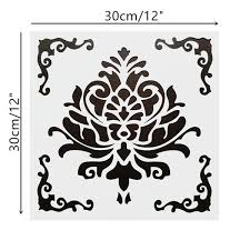 I Do Not Like This Painting Template 2019 Diy Home Decorative 30 30cm Vintage Pattern Craft Layering Stencils Template For Floor Furniture Painting Decorative Embossing Paper Cards From