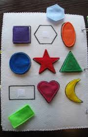 shape matching quiet book page can think of at least a handful of kids i would love to make this for