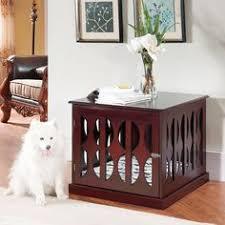 pet crate furniture. #dog Crate Furniture, End Table, #decorative Dog Crates, Pet Furniture