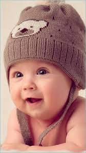 Wallpaper Cute Baby, Hat, Muffle Cap ...