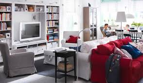 ikea livingroom furniture. Exquisite Image Of Ikea White Wall Shelves As Furniture For Interior Decoration : Good Looking Living Livingroom