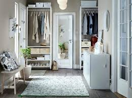 Ikea bedroom furniture wardrobes Bed Room Ikea Bedroom Furniture Wardrobes Hallway With Floor To Ceiling Storage Consisting Of White Shelves Clothes Micolegioco Ikea Bedroom Furniture Wardrobes Hallway With Floor To Ceiling