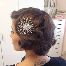 """Short Wedding Hairstyles 36 Best 24 Best Short Wedding Hairstyles That Make You Say """"Wow"""""""