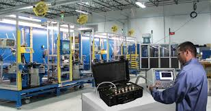 cincinnati test systems precision lead detection equipment and recalibration machine