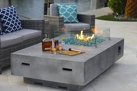 Custom Modern Fire Pit Table Designs  Home Fireplaces Firepits Modern Fire Pit