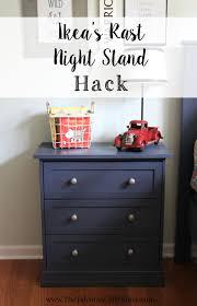 Ikea Hack Nightstand Rast Nightstand