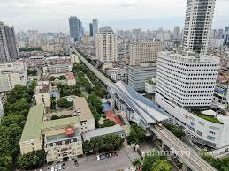 Tàu metro Nhổn - Ga Hà Nội chạy thử 8,5km tuyến trên cao