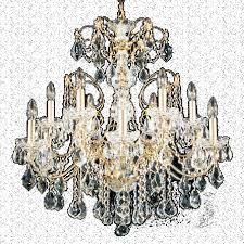 schonbek 1712 23 century 12 light crystal chandelier in etruscan gold with clear heritage crystal